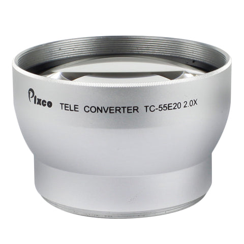 2.0X Magnification Telephoto Tele Converter Lens - Pixco - Provide Professional Photographic Equipment Accessories