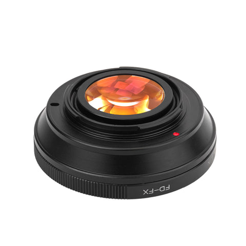 FD-Fujifilm X Speed Booster Focal Reducer Adapter - Pixco - Provide Professional Photographic Equipment Accessories