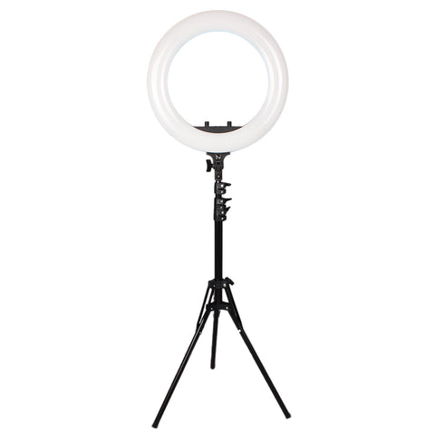 Pixco RL-485 18'' LED Ring Light Photography 60W 2800K-5600K 485pcs Bulbs With Remote Stand Kit - Pixco