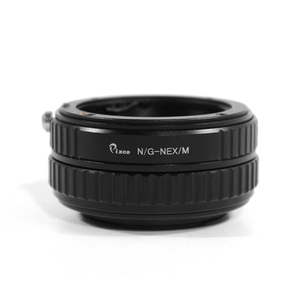 Nikon G-Sony E Macro Focusing Helicoid Adapter