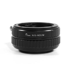 Nikon G-Sony E Macro Focusing Helicoid Adapter - Pixco - Provide Professional Photographic Equipment Accessories