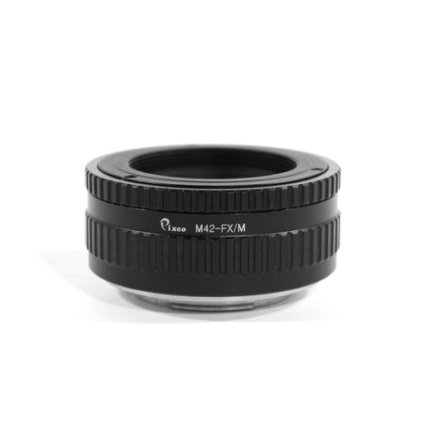 M42-Fujifilm X Macro Focusing Helicoid Adapter - Pixco - Provide Professional Photographic Equipment Accessories
