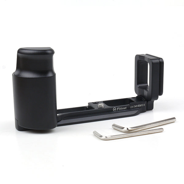 Pixco Metal Quick Release Plate L Vertical Grip For Olympus EM-10