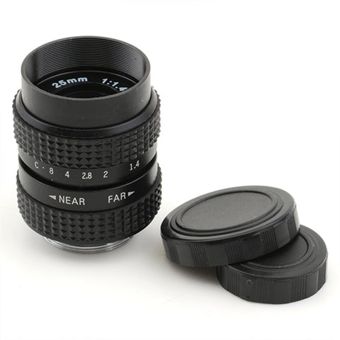 Pixco 25mm F1.4 CCTV Lens For C Mount - Pixco - Provide Professional Photographic Equipment Accessories