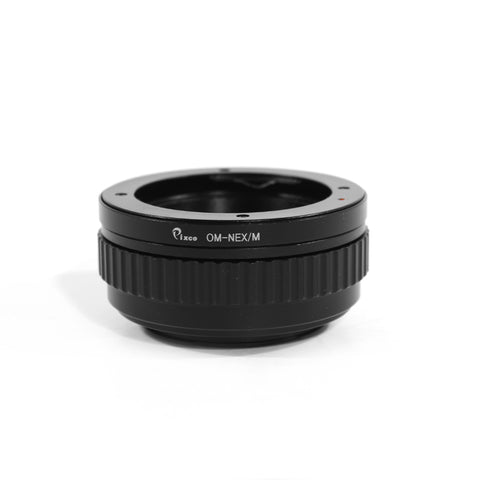 Olympus OM-Sony E Macro Focusing Helicoid Adapter - Pixco - Provide Professional Photographic Equipment Accessories