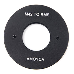20mm RMS Royal Microscopy Society Lens to M42 Adapter - Pixco