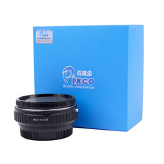 Minolta MD-Micro 4/3 Speed Booster Focal Reducer Adapter - Pixco