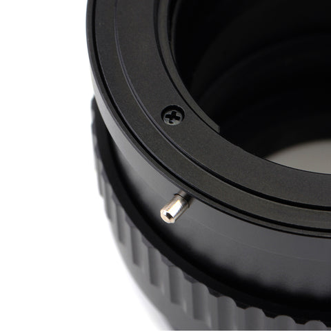Contax Yashica CY-Fujifilm X Macro Focusing Helicoid Adapter - Pixco - Provide Professional Photographic Equipment Accessories