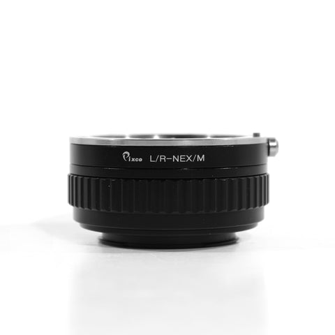 Leica R-Sony E Macro Focusing Helicoid Adapter - Pixco - Provide Professional Photographic Equipment Accessories