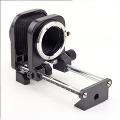 Metal Macro Extension Bellows (Canon / Nikon) - Pixco
