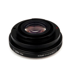 FD-Sony E Speed Booster Focal Reducer Adapter - Pixco