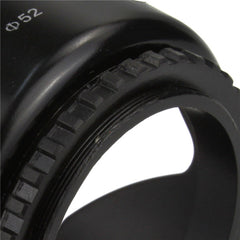 3 Stages Collapse Rubber Lens Hood - Pixco