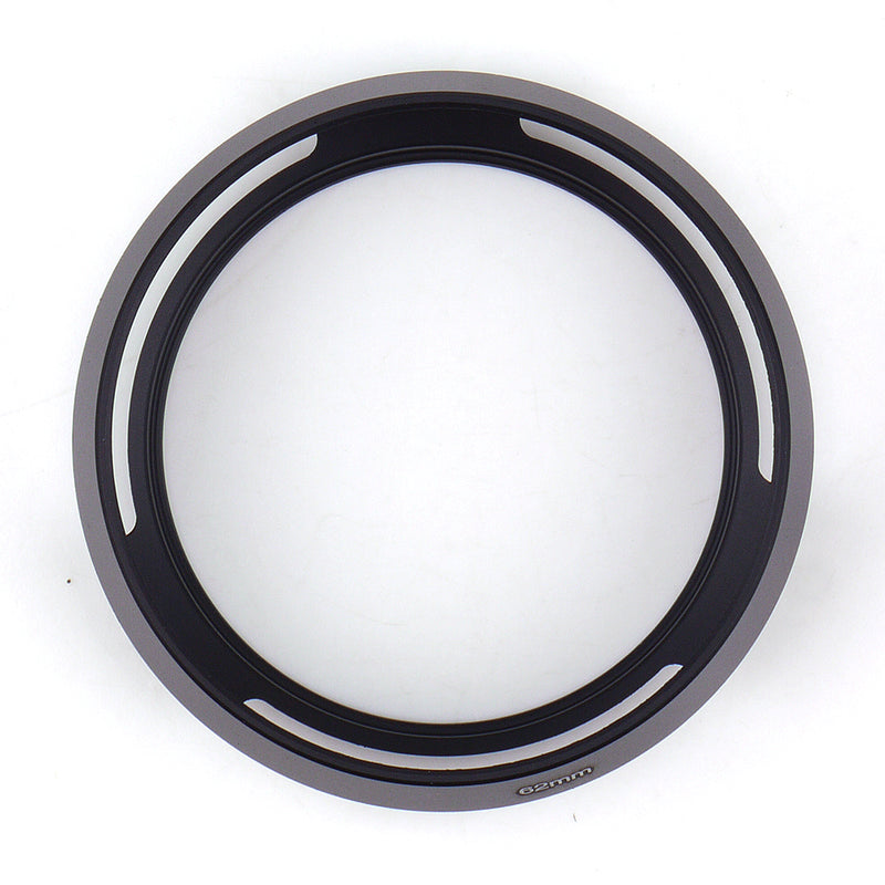 Metal Tilted Vented Lens Hood - Pixco - Provide Professional Photographic Equipment Accessories