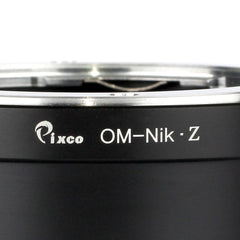Olympus OM-Nikon Z Adapter - Pixco - Provide Professional Photographic Equipment Accessories