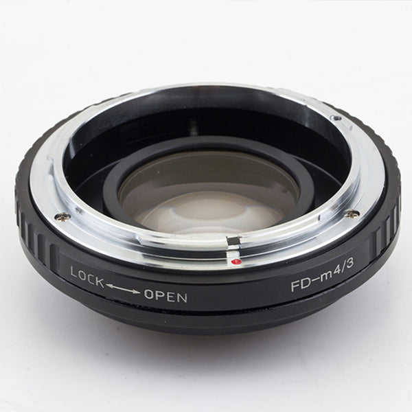 FD-Micro 4/3 Focal Reducer Speed Booster Adapter