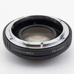 FD-Micro 4/3 Focal Reducer Speed Booster Adapter - Pixco - Provide Professional Photographic Equipment Accessories