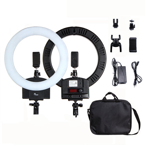 Pixco 13'' LED Ring Light 36W 3200K-5600K 240pcs Bulbs With Remote Stand Kit - Pixco - Provide Professional Photographic Equipment Accessories