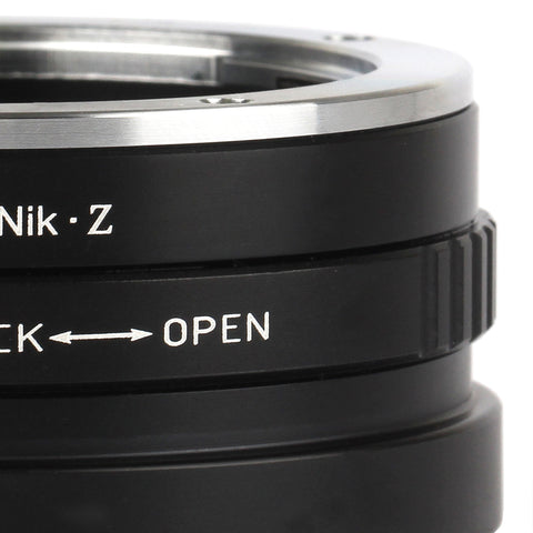 Sony A-Nikon Z Adapter - Pixco - Provide Professional Photographic Equipment Accessories