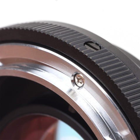 FD-Fujifilm X Speed Booster Focal Reducer Adapter - Pixco
