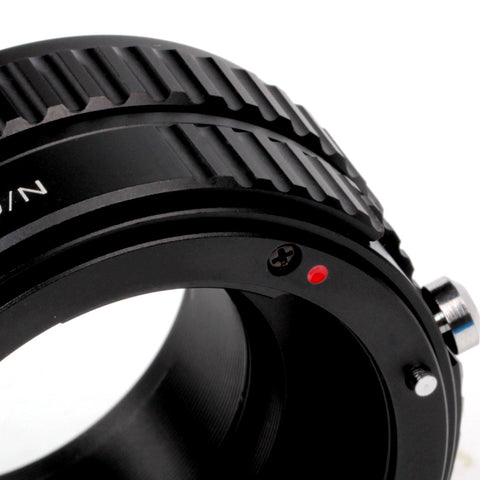 Nikon G-Fujifilm X Macro Focusing Helicoid Adapter - Pixco - Provide Professional Photographic Equipment Accessories