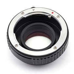 Pentax K-Micro 4/3 Speed Booster Focal Reducer Adapter - Pixco