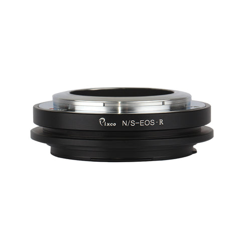 Nikon S-Canon EOS R Adapter - Pixco - Provide Professional Photographic Equipment Accessories