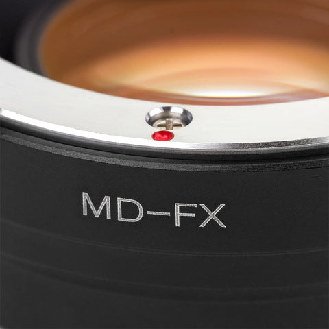 MD-Fujifilm X Speed Booster Focal Reducer Adapter - Pixco