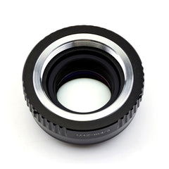 M42-Micro 4/3 Speed Booster Focal Reducer Adapter - Pixco