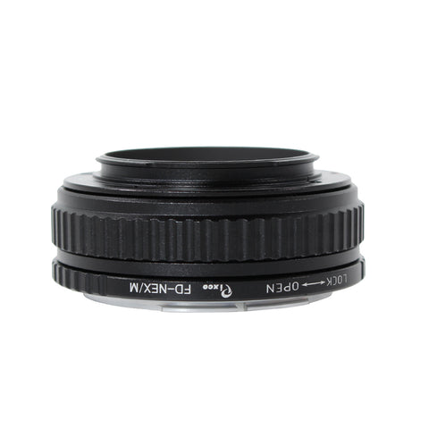 Canon FD-Sony E Macro Focusing Helicoid Adapter - Pixco - Provide Professional Photographic Equipment Accessories