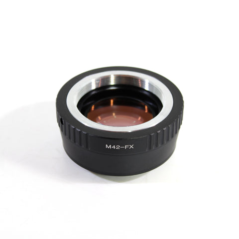 M42-Fujifilm X Speed Booster Focal Reducer Adapter - Pixco