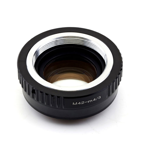 M42-Micro 4/3 Speed Booster Focal Reducer Adapter - Pixco - Provide Professional Photographic Equipment Accessories