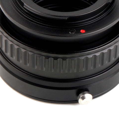 Canon EF-Sony E Macro Focusing Helicoid Adapter - Pixco - Provide Professional Photographic Equipment Accessories