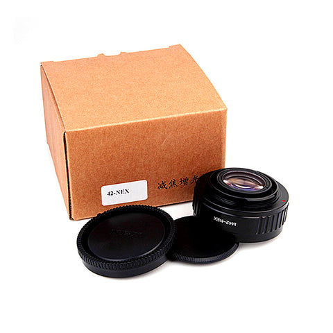 M42-Sony E Speed Booster Focal Reducer Adapter - Pixco