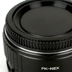 PK-Sony E Speed Booster Focal Reducer Adapter - Pixco