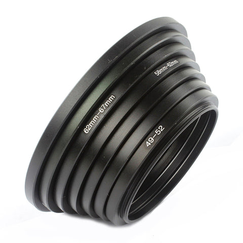 49mm-77mm Step Up Ring Set - Pixco - Provide Professional Photographic Equipment Accessories
