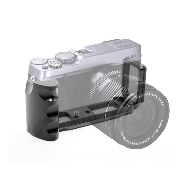 Pixco Metal Quick Release Plate L Vertical Grip For FujiFilm X-E1 / X-E2