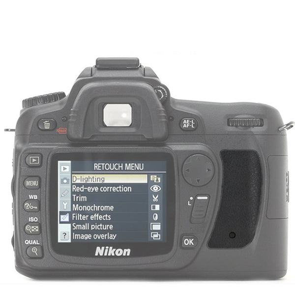 Thumb Rubber Grip Rear Back Cover For Nikon Series