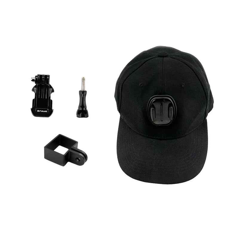 Baseball Hat with Mounting Adapter for DJI Osmo Action Pocket - Pixco - Provide Professional Photographic Equipment Accessories