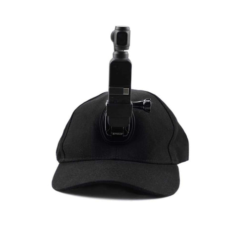 Baseball Hat with Mounting Adapter for DJI Osmo Action Pocket - Pixco