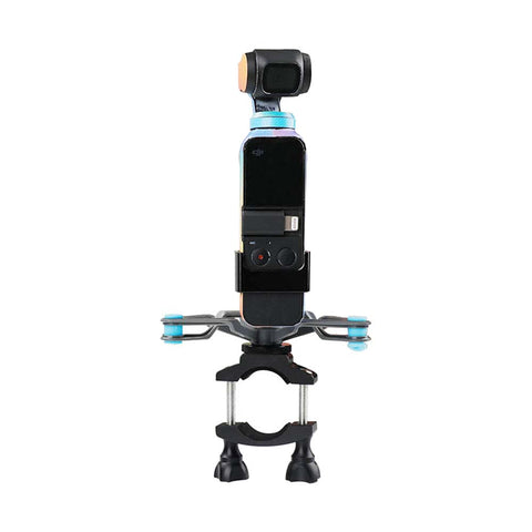 Bike Motorcycle Handheld Gimbal Stabilizer For DJI Osmo Pocket Reduced vibration - Pixco - Provide Professional Photographic Equipment Accessories