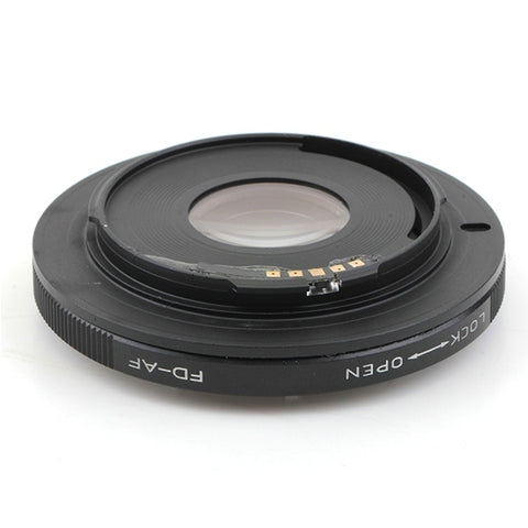 Canon FD-Sony Alpha Minolta MA AF Confirm Adapter - Pixco - Provide Professional Photographic Equipment Accessories
