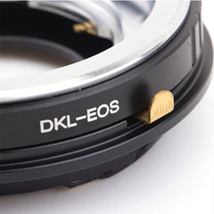 DKL-Canon EOS AF Confirm Adapter - Pixco