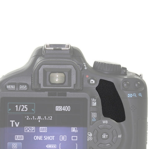 Thumb Rubber Grip Rear Back Cover For Canon EOS Series - Pixco