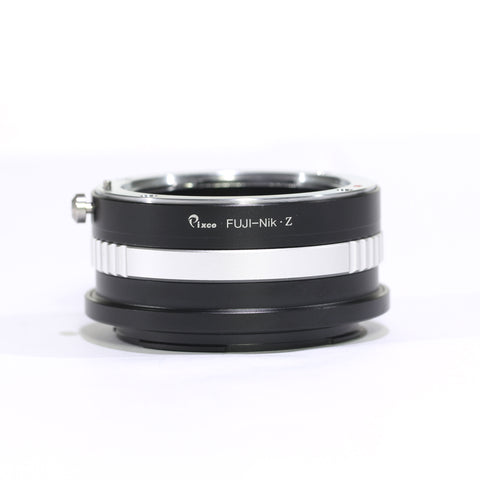 Fujifilm AX-Nikon Z Adapter - Pixco - Provide Professional Photographic Equipment Accessories