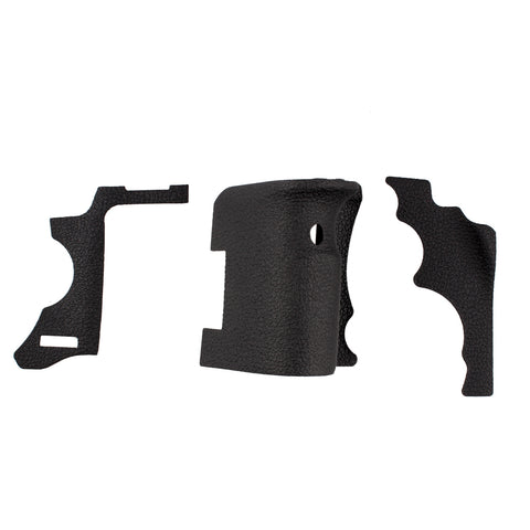 3pcs Set Body Front Back Grip Rubber Cover Shell Replacement Part For Canon - Pixco - Provide Professional Photographic Equipment Accessories