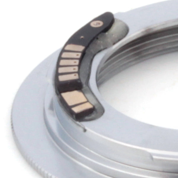 M42-Canon EOS Flange AF-3 Confirm Adapter Silver - Pixco - Provide Professional Photographic Equipment Accessories