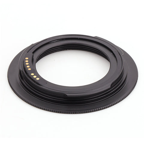 M42-Canon EOS Black GE-1 AF Confirm Adapter - Pixco