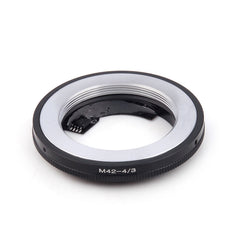 M42-Olympus 4/3 Silver AF Confirm Adapter - Pixco