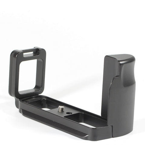 Metal Quick Release L Plate Bracket Holder Hand Grip Vertical External For Nikon - Pixco