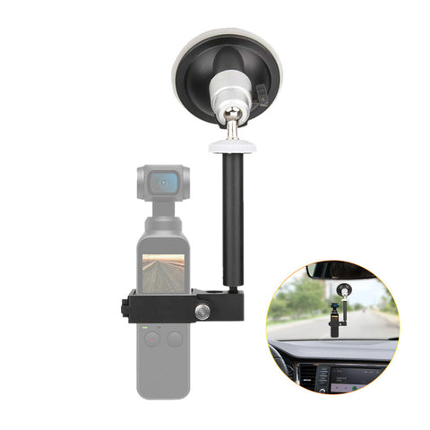 Mount Bracket Car Sucker For DJI Osmo Pocket - Pixco